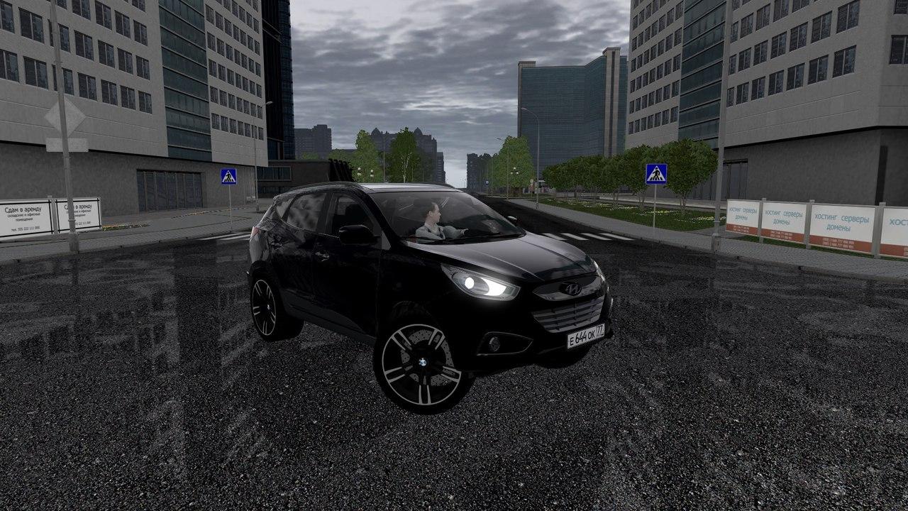 Hyundai IX35 для City Car Driving 1.5.0-1.5.2.