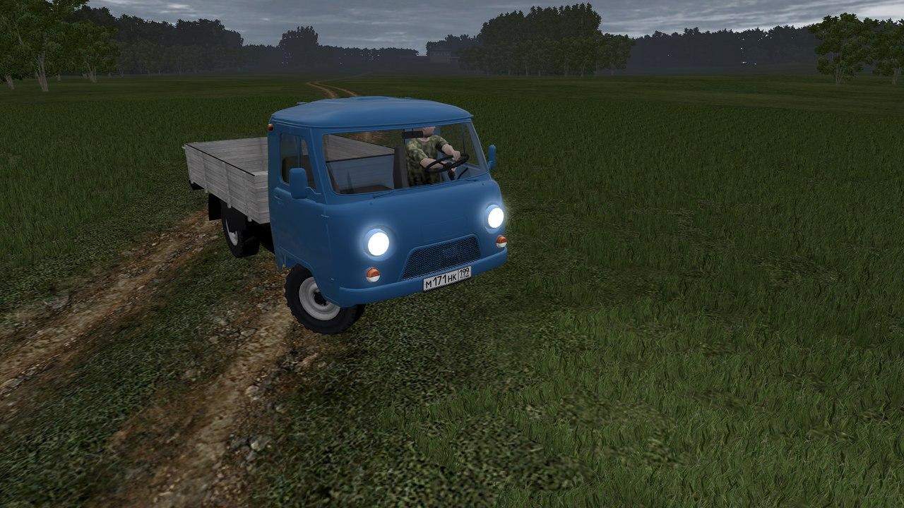 УАЗ 3303 для City Car Driving 1.5.0-1.5.2