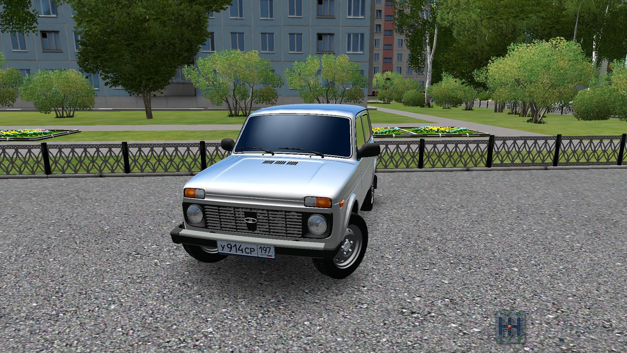 Ваз 21214(Нива) для City Car Driving 1.5.0 - 1.5.2