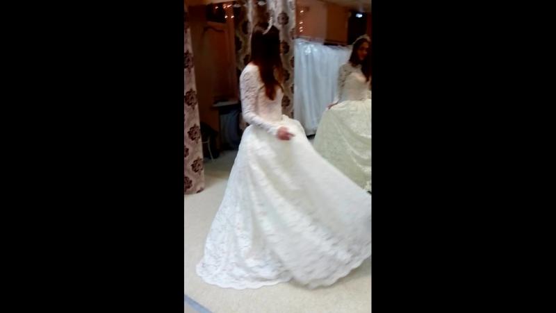 Свадебное платье-трансформер на прекрасной Алине😍😘