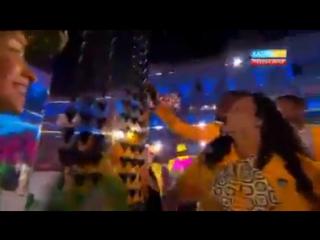 Рио олимпиадасы - ашылу салтанаты