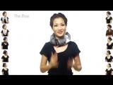 25 простых способов, как стильно завязать шарф