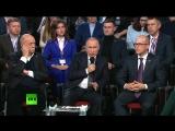 Владимир Путин участвует в работе третьего Медиафорума «Правда и справедливость»