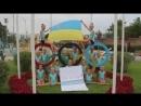 Юные спортсменки записали видео в поддержку украинских гимнасток на Олимпиаде