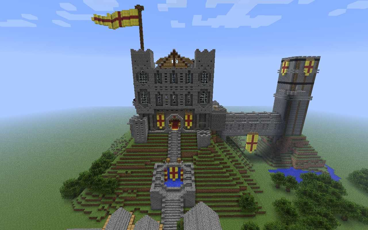 Майнкрафт Замок на Замок