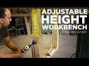 Mike Makes an Adjustable Height Workbench Lifting Mechanism