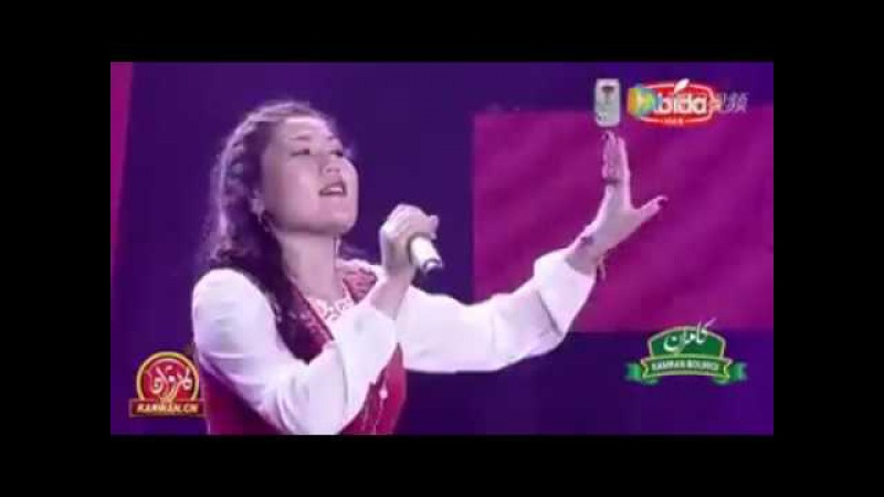 Кытайлык кыргыз кызы кытай ТВсында