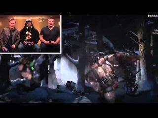 Бестолковый геймер - Звезды NFL играют в Mortal Kombat X
