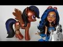 My Little Pony repaint Robecca Steam Theme Monster High