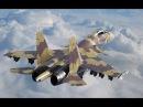 Истребитель Су-37 Терминатор. Фигуры высшего пилотажа