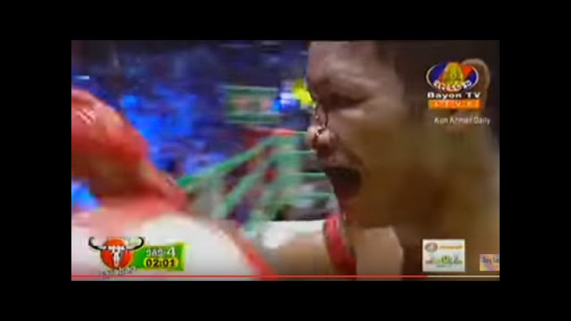 Khmer fighter- Keo Rumchang (Khmer) Vs Jenrop Pumphanmuang (Thai)- March 17, 2016