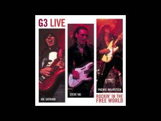 Joe Satriani, Steve Vai & Yngwie Malmsteen: G3 - Rockin In the Free World (Live) [HQ]