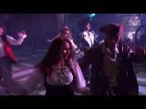Танец анимации Сосновой рощи на пиратской вечеринке