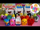 ВРЕМЯ ПРИКЛЮЧЕНИЙ 32 ИГРУШКИ ХЕППИ МИЛ МАКДОНАЛЬДС июль-август 2016 Adventure Time Happy Meal
