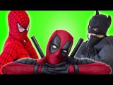 Superhero battle in real life Compilation w/ Spiderman & Batman vs Deadpool vs Hulk & SpiderGirl