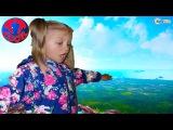 Ярослава и Хелло Китти на Канатной Дороге. Гора Тахталы – Кемер Турция. Видео для детей. Hello Kitt