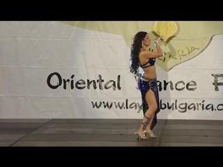 Festival Layali Bulgaria 2015, Guest Hayal Brazilian Dancer
