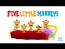 Five Little Monkeys _ Super Simple Songs