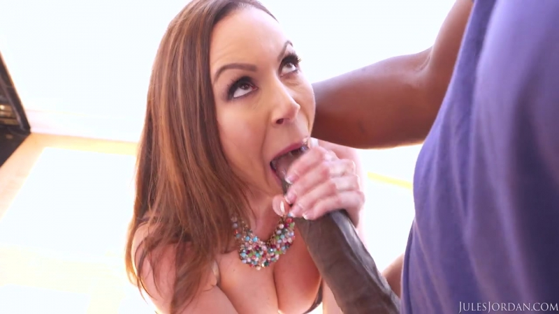 2181 Kendra Lust Big Tit MILF Has The Biggest Black Cock Of Her Life Jules Jordan, Мамка, С