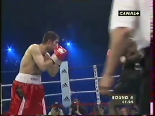 1999-06-07 Mamadou Thiam vs Orhan Delibas (EBU light middleweight title)