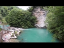 Апсны. Абхазия. Голубое озеро