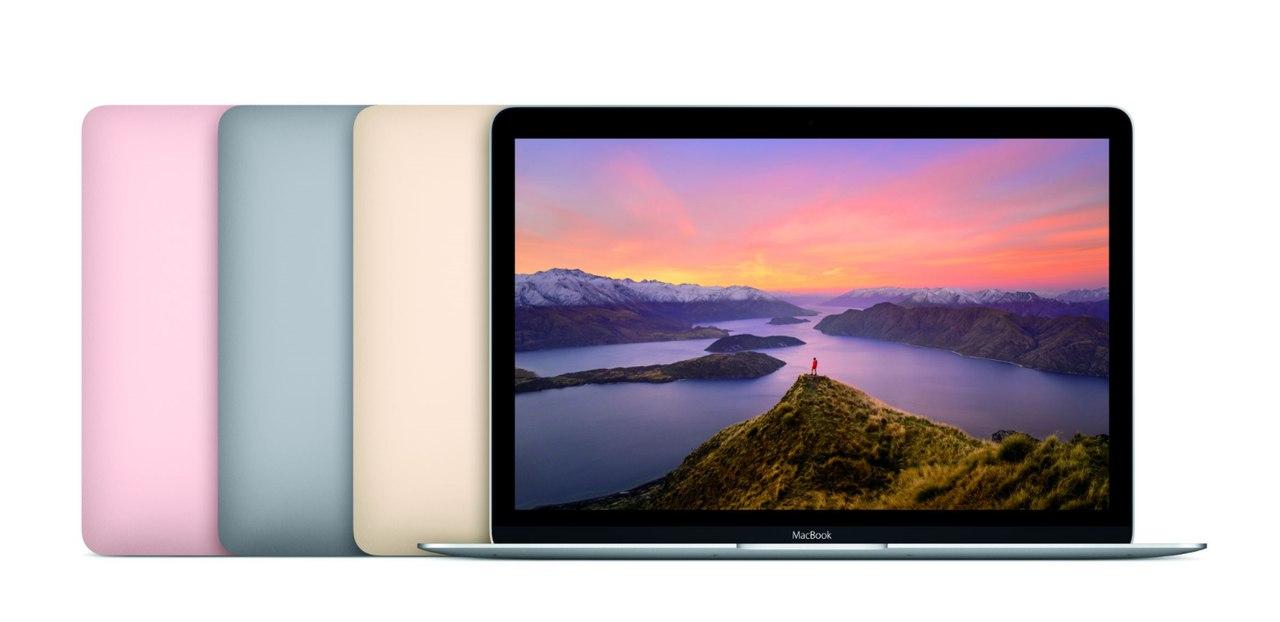 Обновлённая линейка MacBook и MacBook Air