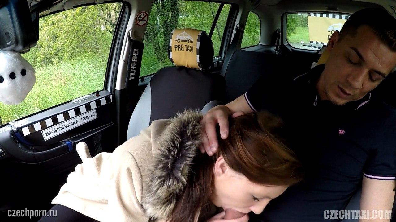 18 летняя сосет в такси