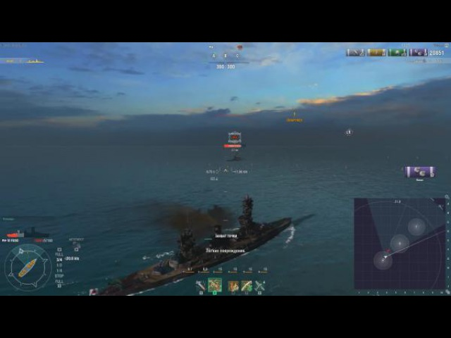 World of warships Кит или Слон Дюнкерк vs Fuso Warspite Z1ooo World of Warships