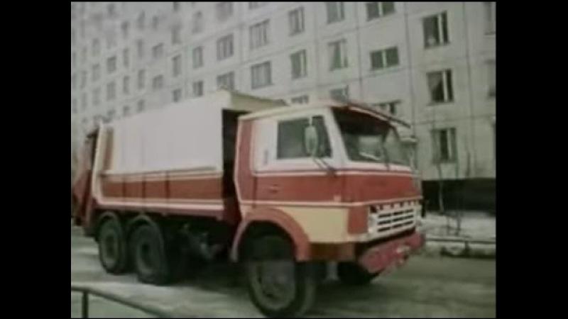 Водитель КАМАЗа 1983