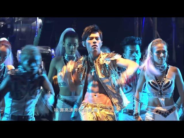 周杰倫 Jay Chou 魔天倫世界巡迴演唱會Opus Jay World Concert Opening 驚嘆號 龍拳