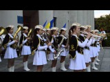 Дівочий духовий оркестр Роксолана Кременчук