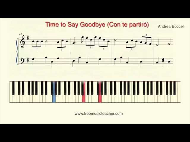 How To Play Piano: Andrea Bocceli