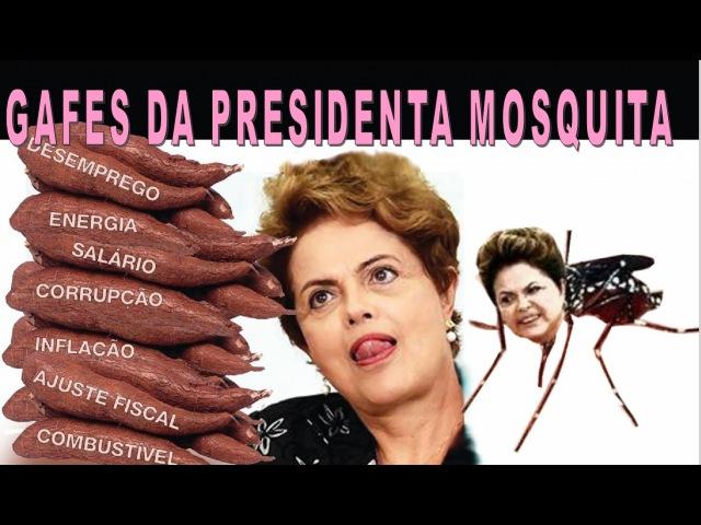 DISCURSOS Engraçados da DILMA Pra Tu MIJAR de RIR Compilação 20 Gafes da ex Presidente MOSQUITA