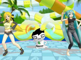 MMD NEWCOMER JOHN EGBERT AND HIS GOOD DANCIGN
