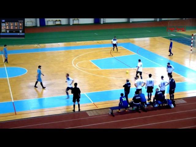 Футзал. Лига АРФМС. Насосэнергомаш - Sagacitas | HighSportLive | HSL