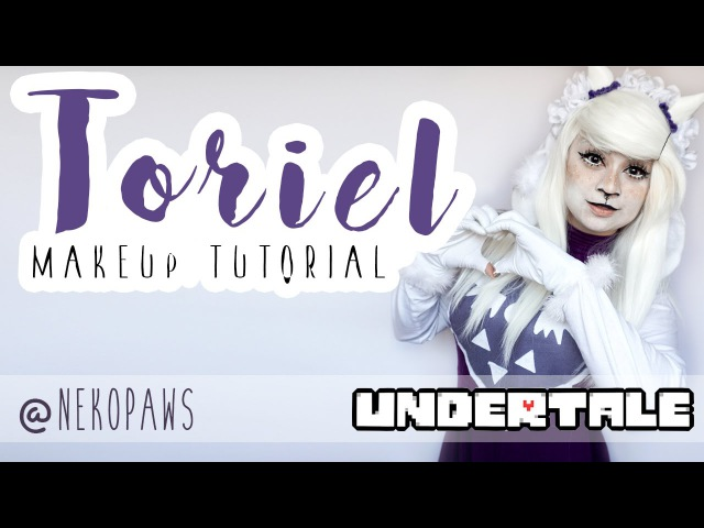 Toriel, Undertale   COSPLAY MAKEUP TUTORIAL