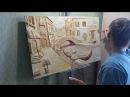 Лепка из гипса Барельеф фрезка фактурная штукатурка bas relief sculpture