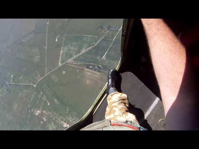 Прыжок с парашютом 2200м АН 2 30сек падения Parachute jump