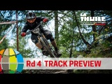 EWS 4 Alpine Excellence. La Thuile Track Preview, Italy