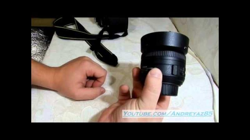 Nikon 35mm f/1.8G AF-S DX Nikkor на D5100