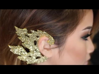 DIY_ Traditional Thai_Cambodian Gold Ear Piece