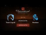 Liquid vs Newbee,TI6 Групповой этап, Игра 2