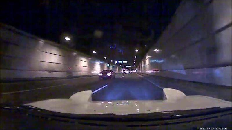 Авария Metropolitan Expressway Bayshore Route (FD3S-Celica GT Four)