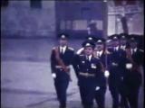Турнов, войсковая часть, кадры любительского фильма (На плацу)