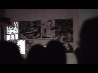 выставка Пуск (отрывок, стэнд с комиксом)