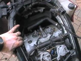 Замена прокладки клапанной крышки F800S