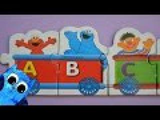 Sesame Street: Учим Немецкий Алфавит в Поезде на Улице Сезам-Деская Песня