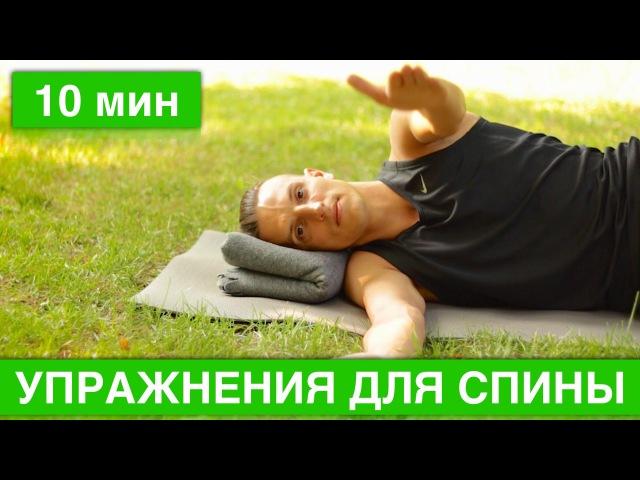 Упражнения для спины. 5 базовых упражнений для здоровья позвоночника