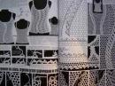 Duplet Special Relize Crochet patterns magazine Multicolor Lace Netting Relief patterns