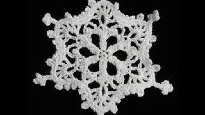 Crochet : Copo de Nieve